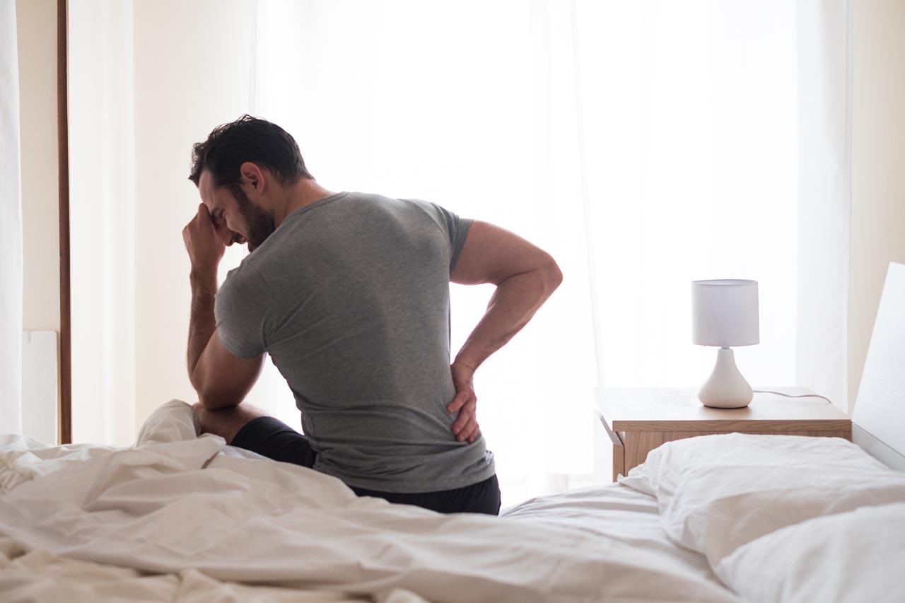 Oefeningen bij een beginnende hernia