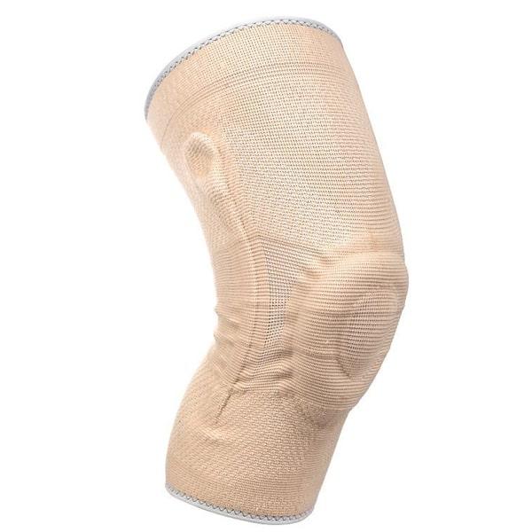 Medidu premium kniebrace met baleinen lichtgewicht in zwart en beige