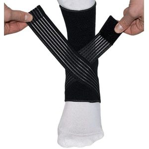 Medidu Premium Enkelbrace (in zwart en beige)