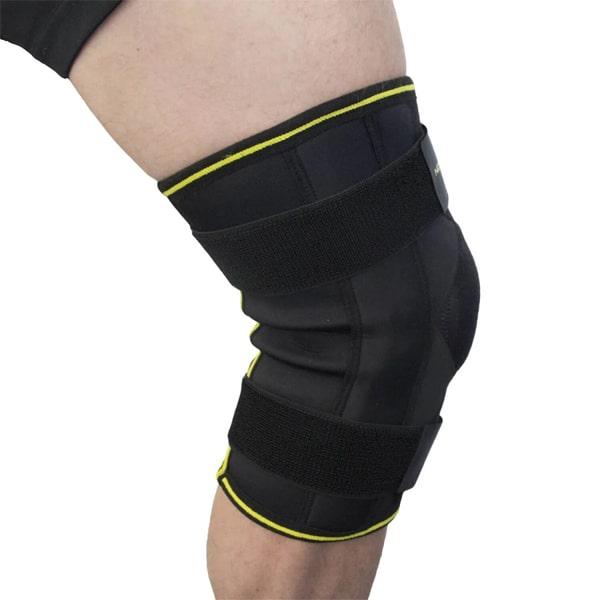 Novamed scharnier kniebrace MAX met extra gekruiste banden