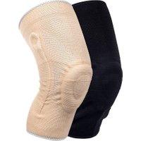 Medidu Premium kniebrace met baleinen – Lichtgewicht (In zwart en beige)