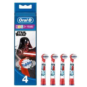 Kids' Opzetborstels Met Star Wars-figuren, Verpakking Van 4