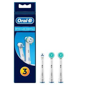 Ortho Care Essentials Opzetborstels, Verpakking Van 4