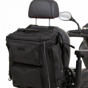 Splash Torba Luxe rolstoel & scootmobieltas -Grijs / Zwart