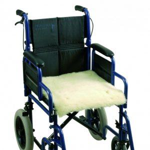 Schapenvacht voor rolstoel – zitting